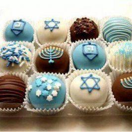 Idea para decorar Muffins para Januca