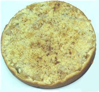 Torta de Manzana con Cubierta Streussel