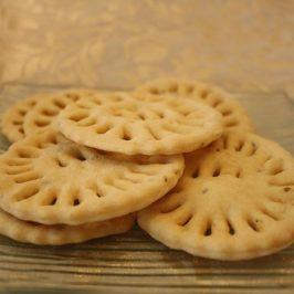 Galletas Pellizcadas o Tortitas Cribadas