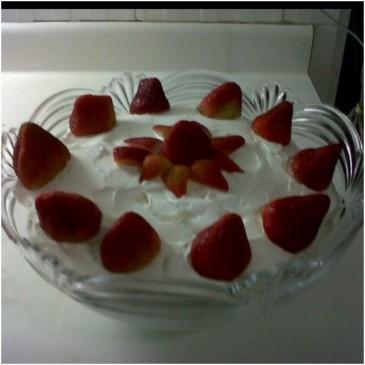Merengón de Fresas