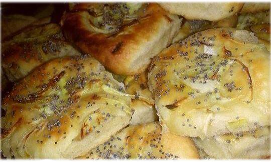 Pletzalej de Cebolla y Amapola