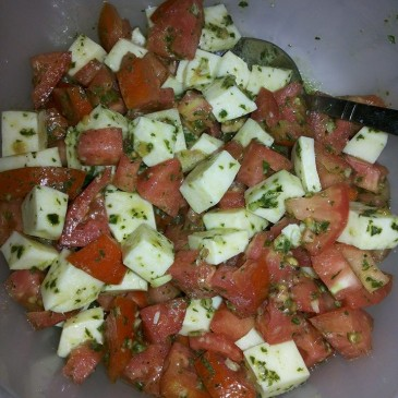 Ensalada de Tomate y Mozarella