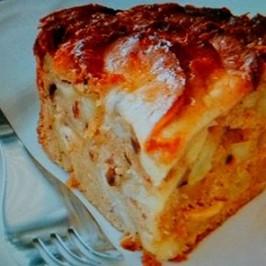 Pastel de Manzanas (Pesaj)