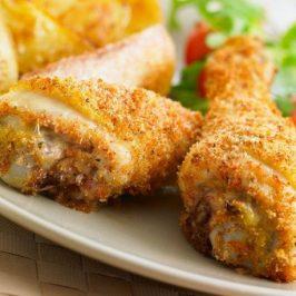 Pollo Empanizado con Miel (Pesaj)