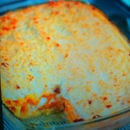 Lasagna de Calabaza y queso