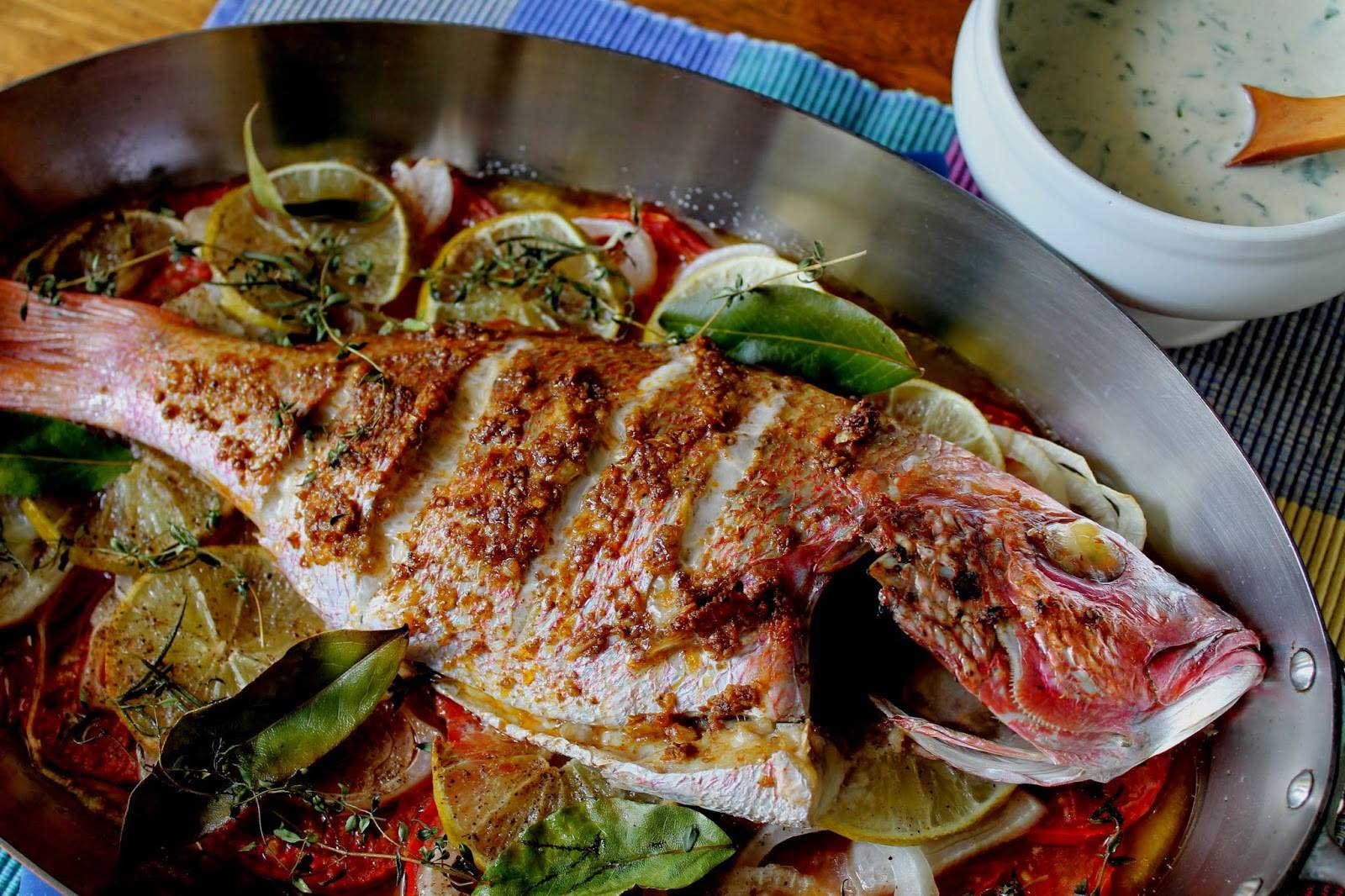 Pescado relleno al horno recetas judias for Como cocinar judias