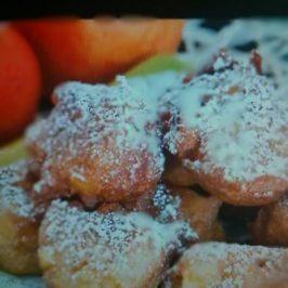 Frituras de Manzana