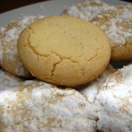 Polvorosas de Nueces (pueden ser de avellanas o almendras tostadas)