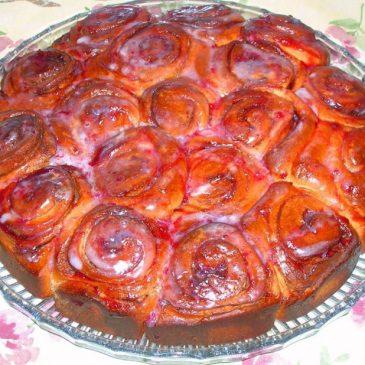 Cake de Cinnamon rolls