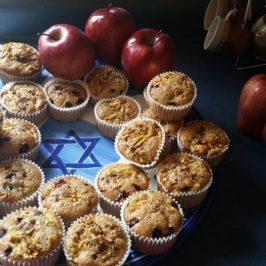 Cupcakes Integrales de Manzana
