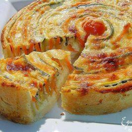 "Tarta de Vegetales ""Otoño Sol"""