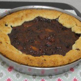 Torta con pure de fruta seca