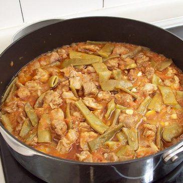 Carne guisada con Vainitas (Habichuelas Verdes)