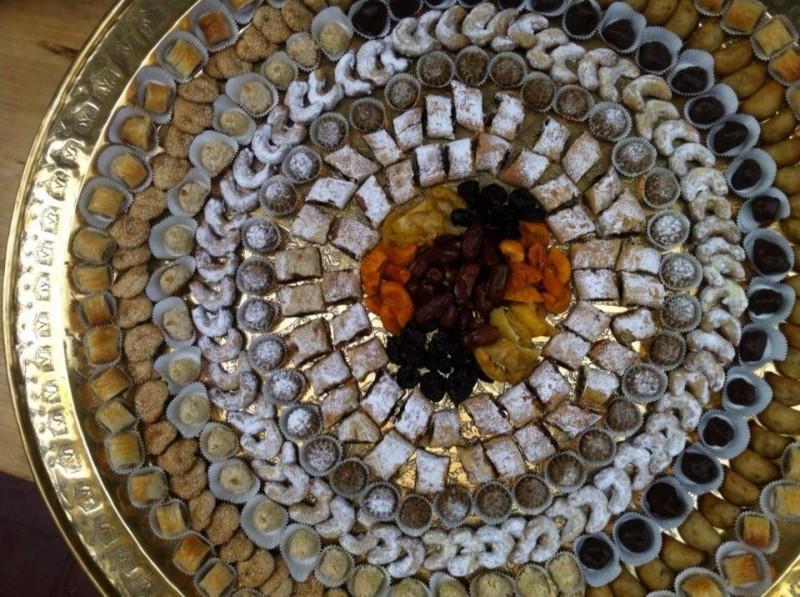 Bandeja de dulces presentacion Myriam Dueñas