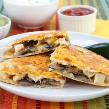 Matzo Quesadillas