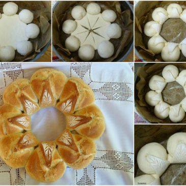 Pan en forma de Flor