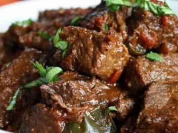 Esek Fleisch (Guiso de carne dulce)