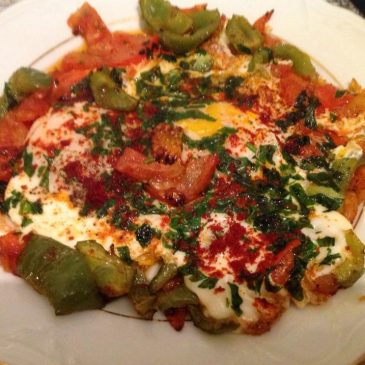Huevos a lo Mediterráneo