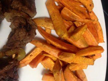 Chips de Batata al horno (Camote)
