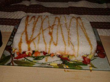 Torta de Sushi