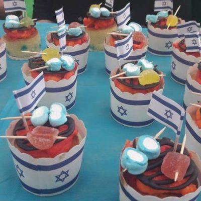 Panquecitos de coco para Yom Haatzmaut