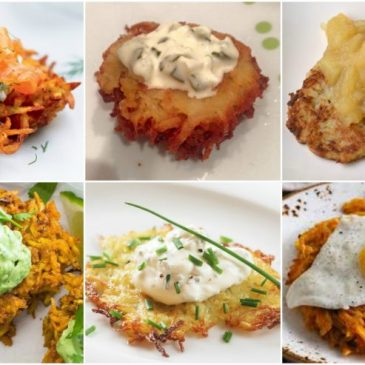 Ideas de Toppings para Latkes