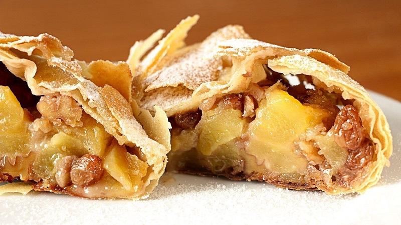 Strudel De Manzanas Sin Azúcar Recetas Judias