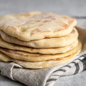 Pita sin Gluten - Recetas Judias